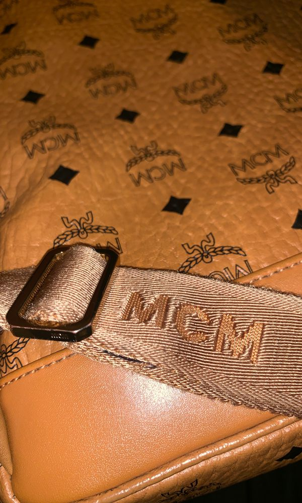 Mcm bag excellent condition never really used !