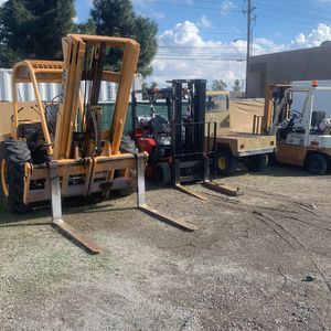 Forklift for sale and other things GMC stepside was sold for Sale in Riverside, CA