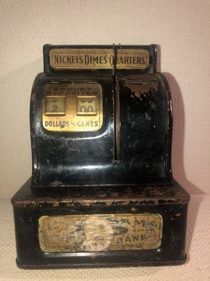 Uncle Sam's 3 Coin Register Bank by Durable Toy & Novelty for Sale in Frisco, TX