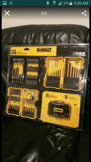Brand New Dewalt 122 pieces drill set for Sale in Cerritos, CA