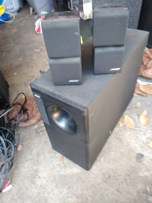 bose acoustimass 5 series ll speaker system for Sale in Cerritos, CA