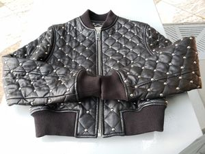 Michael Kors leather jacket S size for Sale in New York, NY