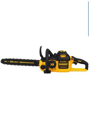 """DEWALT DCCS690M1 40V MAX Lithium Ion XR Brushless 16"""" Chainsaw, 4AH for Sale in Willingboro, NJ"""