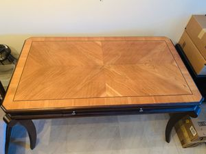 Beautifull table and 2 vertical drawer ( solid wood ) for Sale in Pompano Beach, FL
