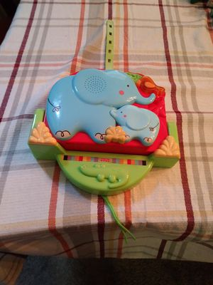 FISHER PRICE MUSICAL PROJECTION CRIB TO CAR TOY $10 for Sale in Southeast Raleigh, NC