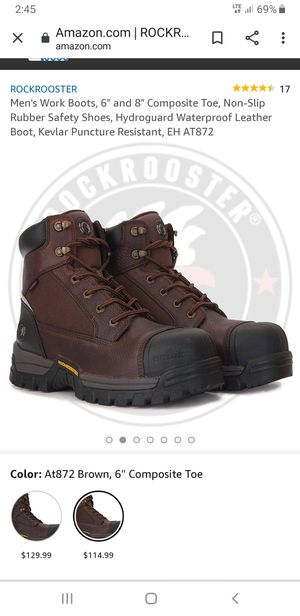 ROCKROOSTES BOOTS for Sale in Aurora, CO