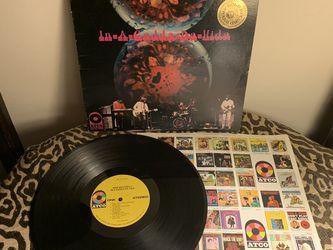 1968 Iron Butterfly In-A-Gadda-Da-Vida Vinyl LP SD 33-250 ATCO for Sale in Baltimore,  MD