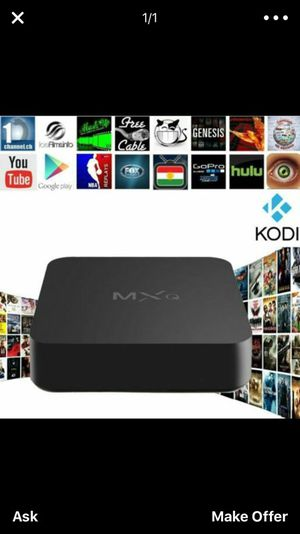 Android kodi box for Sale in Surprise, AZ
