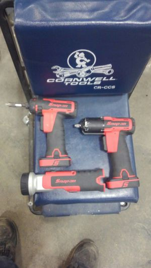 Snap on 3/8 impact and 1/4hex driver with flashlight for Sale in Harrisonburg, VA