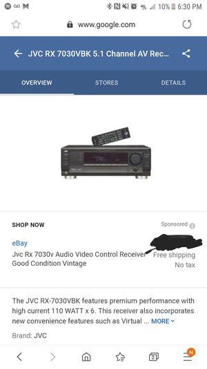 Jcv receiver for Sale in Vista, CA