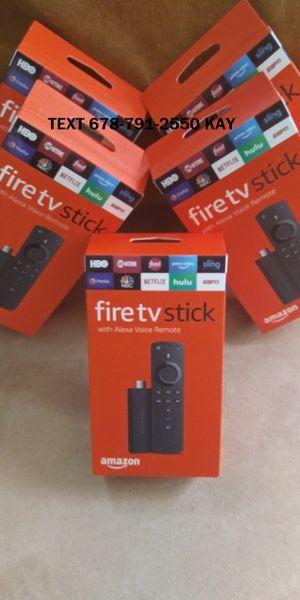 Newest Amazon Fire TV stick (Programmed) for Sale in Atlanta, GA