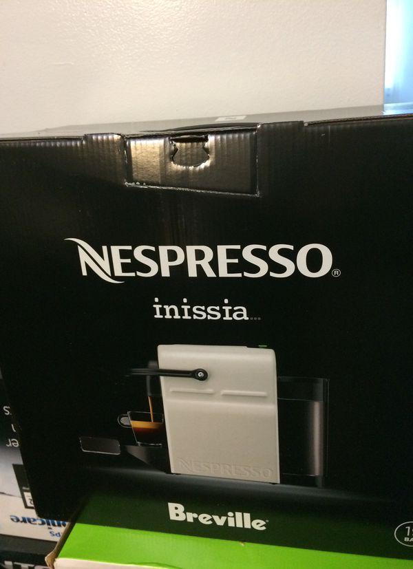 Nespresso inissia breville