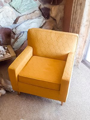 Ultra cool mid century modern sofa and matching chair for Sale in West Valley City, UT