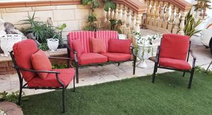Aluminum Sofa Patio Set with Cushions... Excellent Conditions! for Sale in Spring Valley, CA