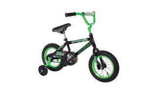 """Dynacraft Magna Gravel Blaster Boys BMX Street/Dirt Bike 12"""", Black/Green for Sale in Columbus, OH"""
