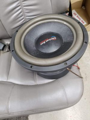 12 inch American bass hd.... 1500 rms!!! for Sale in Middletown, OH