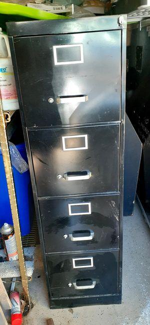 Black file cabinets for Sale in Aurora, CO