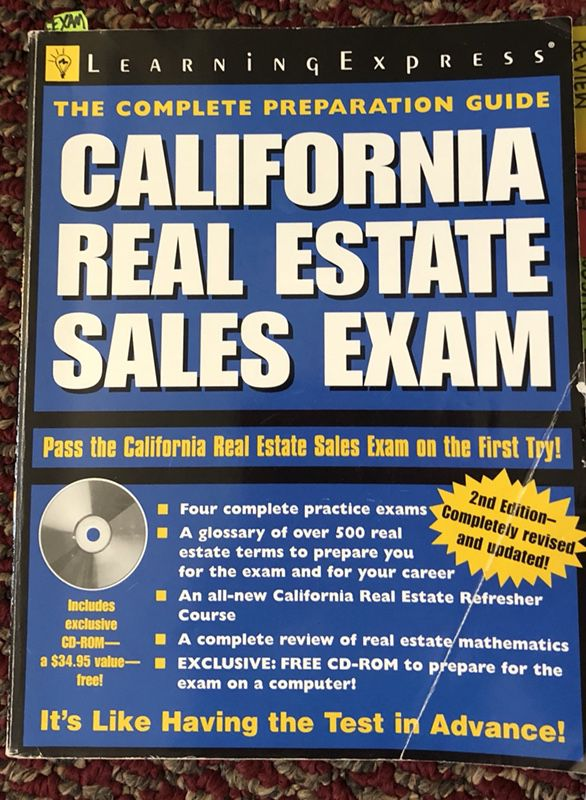 California Real Estate Sales Exam study/prep package for Sale in Murrieta,  CA - OfferUp
