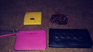 Wallets and change wallets and card holding wallet for Sale in Utica, MI