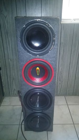 4 10s subs for Sale in Tampa, FL