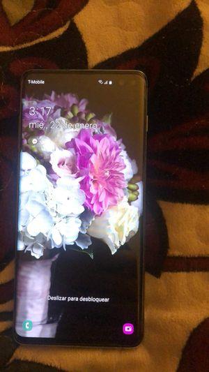 Samsung Galaxy 10 plus color azul for Sale in Los Angeles, CA