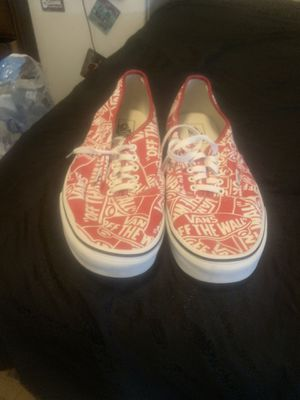 New era vans (size 13) for Sale in Des Moines, IA