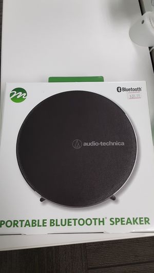 Audio-technica portable Bluetooth speaker for Sale in San Angelo, TX
