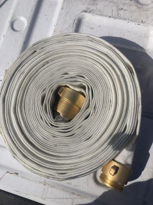 50' and 75' 11/2 fire hose new and unused hoses for Sale in Riverside, CA