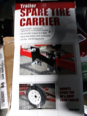 Spare tire carrier/mount for trailer, car or truck for Sale in Concord, CA