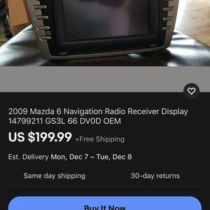 Mazda 6 Factory Navi for Sale in Baltimore, MD