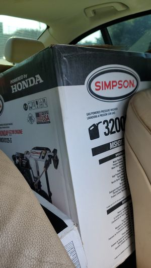 3200 simpson pressure washer for Sale in Conyers, GA