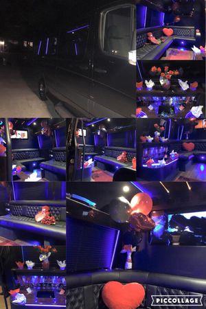 Valentine's day limo/party van ride for Sale in Atlanta, GA