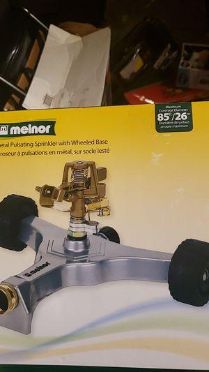 Melnor pulsating sprinkler with wheel base for Sale in Fredericksburg, VA