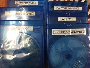 Brand new releases blu rays!!! for Sale in Brea, CA