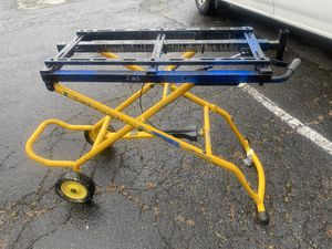 Chop saw stand for Sale in Snohomish, WA