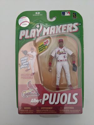 McFarlane Toys Playmakers Cardinals Albert Pujols for Sale in Gilbert, AZ