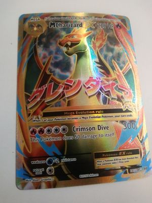Mega charizard pokemon card for Sale in Tucson, AZ