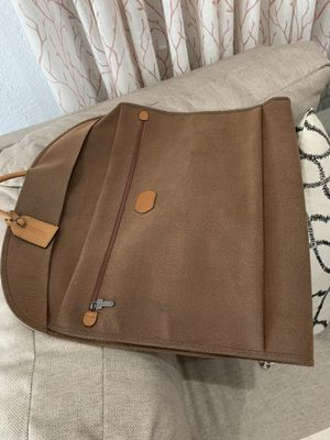 Camel leather travel garment bag for Sale in Miami, FL