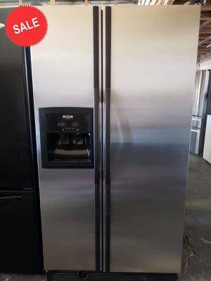 💎💎💎Side by Side Whirlpool Refrigerator Fridge Free Delivery #1456💎💎💎 for Sale in Riverside, CA