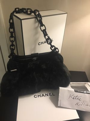 Chanel lapin bag- real rabbit fur for Sale in Grosse Pointe, MI