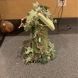 Handmade Green Wooden Birdhouse Decoration for Sale in Fort McDowell,  AZ