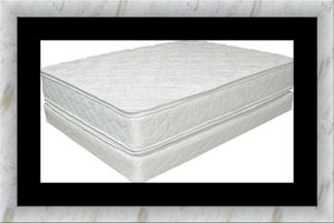 King double pillowtop mattress with split box spring for Sale in Rockville, MD