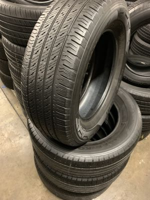 265/60/18 set of Hankook tires installed for Sale in Rancho Cucamonga, CA
