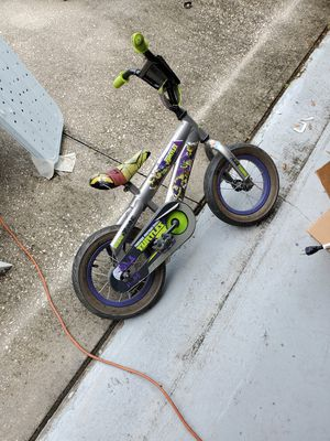 Ninja turtle bike for someone who's learning to ride two wheels for Sale in Land O Lakes, FL