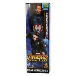 "Marvel Avengers Infinity War Titan Hero Series Captain America Action Figure 12"" Superhero for Sale in Fort Lauderdale,  FL"