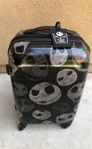 Disney Luggage - Nightmare Before Christmas for Sale in Mission Viejo, CA