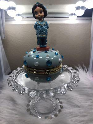 Disney jasmine trinket for Sale in Victorville, CA