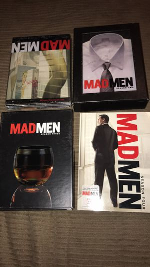 Mad men season 1 threw 4 for Sale in San Angelo, TX