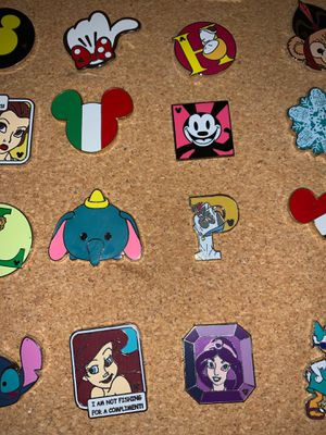 Disney princess pins Disneyland collectables 10 for $20 for Sale in Chula Vista, CA