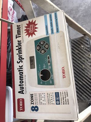 sprinkler timer automatic (Toro) for Sale in Chula Vista, CA